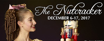 "A promotional photo for ""The Nutcracker,"" courtesy of San..."