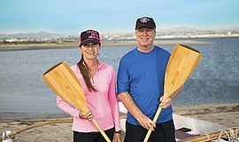 Promotional photo for Hawaiian outrigger canoeing. Courtesy of Osher Lifelong...