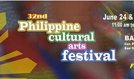 Promotional graphic for the 32nd Philippine Cultural Arts Festival