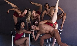 Photo of the featured performers. Courtesy of The PGK Dance Project.