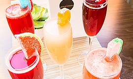 Promotional photo of drinks at the Pinzimini Bar. Courtesy of Pinzimini Bar l...