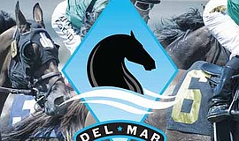 Promotional photo for the TVG Pacific Classic. Courtesy of Del Mar Racing.