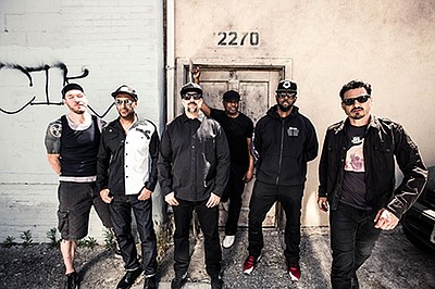 Promotional photo of Prophets of Rage. Courtesy of Prophets of Rage.
