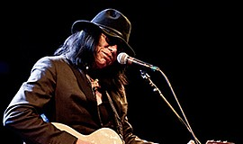 A promotional photo of musician Rodriguez.