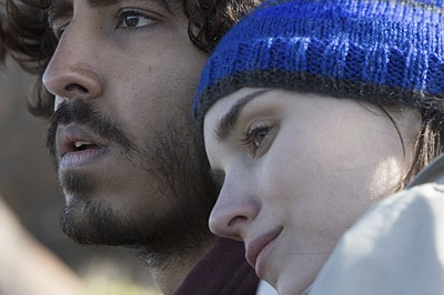 "Rooney Mara and Dev Patel in ""Lion"" (2016)."
