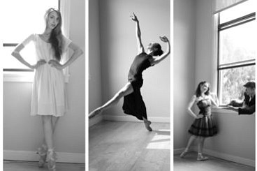 A promotional photo of San Diego Ballet dancers, courtesy...
