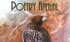 Promotional graphic for the San Diego Poetry Annual. Courtesy of Mission Hill...
