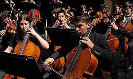 Promotional photo of the San Diego Youth Symphony. Courtesy of the San Diego ...