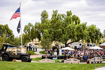 Promotional photo for the San Marcos Veterans Day Ceremony