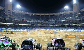 Promo graphic for Monster Jam At PETCO Park
