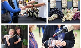 Photo collage for the San Diego County Vintners Association Wine & Food Festi...