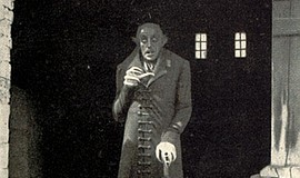 "Max Schreck in ""Nosferatu, A Symphony of Horror"" (1922) film still. Public Do..."