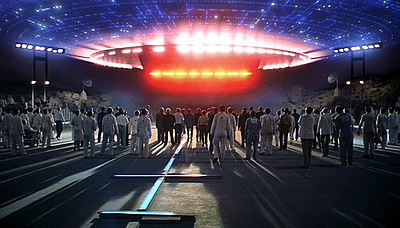 Close Encounters of the Third Kind (1977).