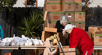 Promotional photo courtesy of the San Diego Food Bank.