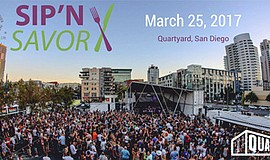 Promotional photo for Sip 'n Savor Festival at Quartyard