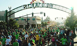 Promotional photo of the St. Patrick's Day Half Marathon