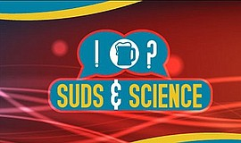 Promotional graphic for Fleet Science Center's Suds & Science program.