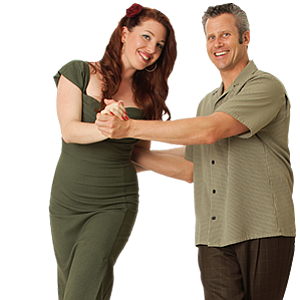 Promotional photo of Jackie and Joel Plys of Swing Dancin...