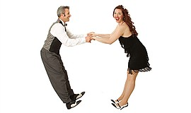 Promotional photo of Joel and Jackie Pls. Courtesy of Swing Dancing San Diego.