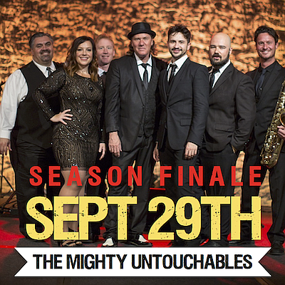 Promotional photo of The Mighty Untouchables, the last performers for the Dinner and a Concert Series at Promenade Park.