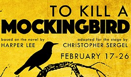"A poster from Pickwick's version of ""To Kill a Mockingbird."""