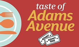 Promotional graphic for Taste of Adams Avenue. Courtesy of Adams Avenue Busin...