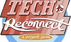 Graphic logo for Tech to Reconnect. Courtesy of San Diego Zoo Global.