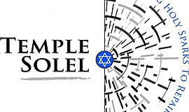Promotional logo for Temple Solel. Courtesy of Temple Solel.