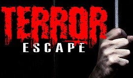 Promotional graphic for Terror Escape at Modern Airsoft Indoor Arena
