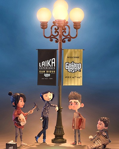 Promotional photo for The LAIKA Experience. Courtesy of LAIKA Animation Studio.