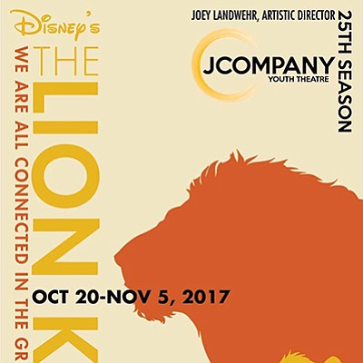 Promotional flyer for JCompany Youth Theatre adaptation o...