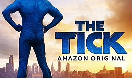 Promotional graphic for The Tick. Courtesy of Amazon.