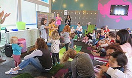 Promotional photo for ScholarShare's Toddler Time: Boogie Down. Courtesy of T...
