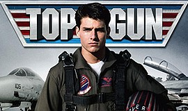 "Promotional photo for the Cinema Under the Stars screening of ""Top Gun."" Cour..."