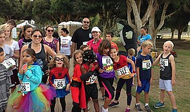 Promotional photo for the Trick or Trot 5K Trail & 1 Mile Fun Run. Courtesy o...