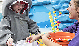 Promotional photo for the Halloween Spooktacular. Courtesy of SeaWorld San Di...