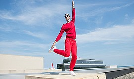 Promotional photo for Trisha Brown Dance Company. Courtesy of ArtPower at UC ...