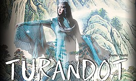 Promo graphic for San Diego Opera Presents 'Turandot'