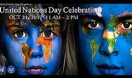 Promotional graphic for the United Nations Day Celebration. Courtesy of Unite...