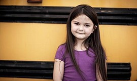 Promotional photo of child that has been matched with a CASA. Courtesy of Voi...