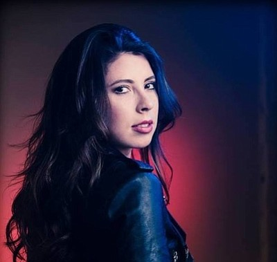 Photo of the holiday music performer, Jessica Lerner. Cou...