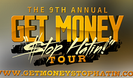 "Promotional graphic for the event. Courtesy of ""Get Money, Stop Hatin'."""