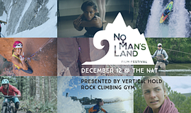 Promotional graphic for No Man's Land Film Festival San Diego. Courtesy of Ve...