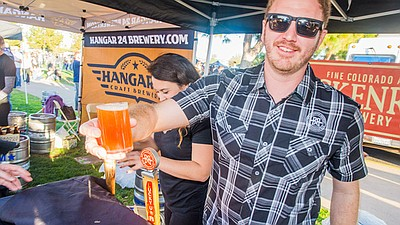 Promotional photo from previous Brew Festival. Courtesy o...