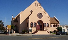 Promotional photo of church's exterior. Courtesy of Christ United Presbyteria...