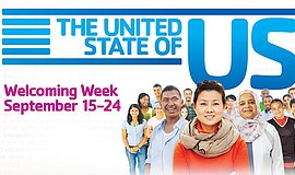 Promotional graphic for Welcoming Week. Courtesy of South Bay YMCA and Welcom...