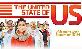 Promotional graphic for Welcoming Week. Courtesy of Copley-Price Family YMCA ...