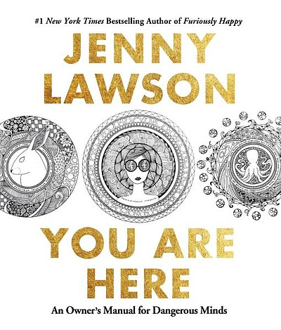 "Book cover for Jenny Larson's ""You Are Here."""
