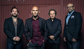 A photo of the Miguel Zenón Quartet, courtesy of ArtPower.