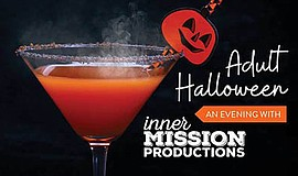 Promotional graphic for Adult Halloween at Splash Wine Lounge. Courtesy of In...